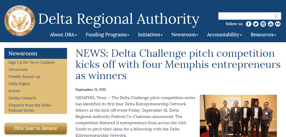 NEWS: Delta Challenge pitch competition kicks off with four Memphis entrepreneurs as winners